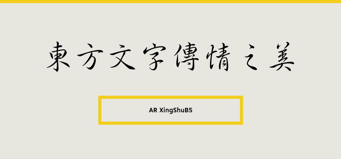 AR XingShuB5