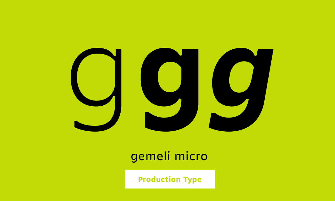 Production Type Gemeli Micro