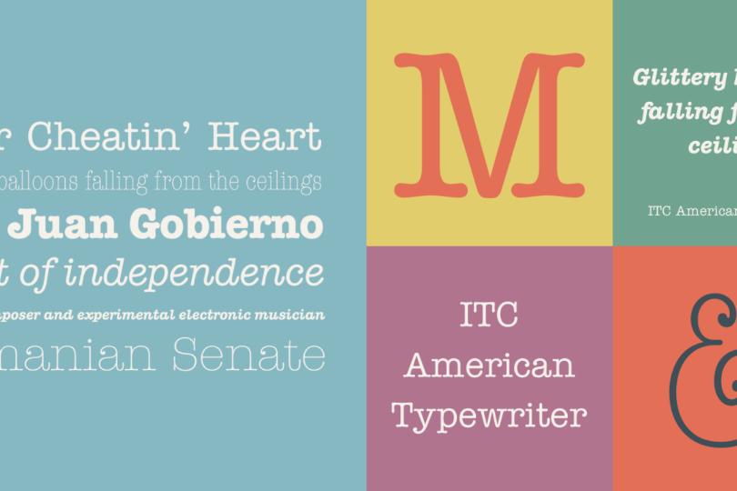 ITC Typewriter