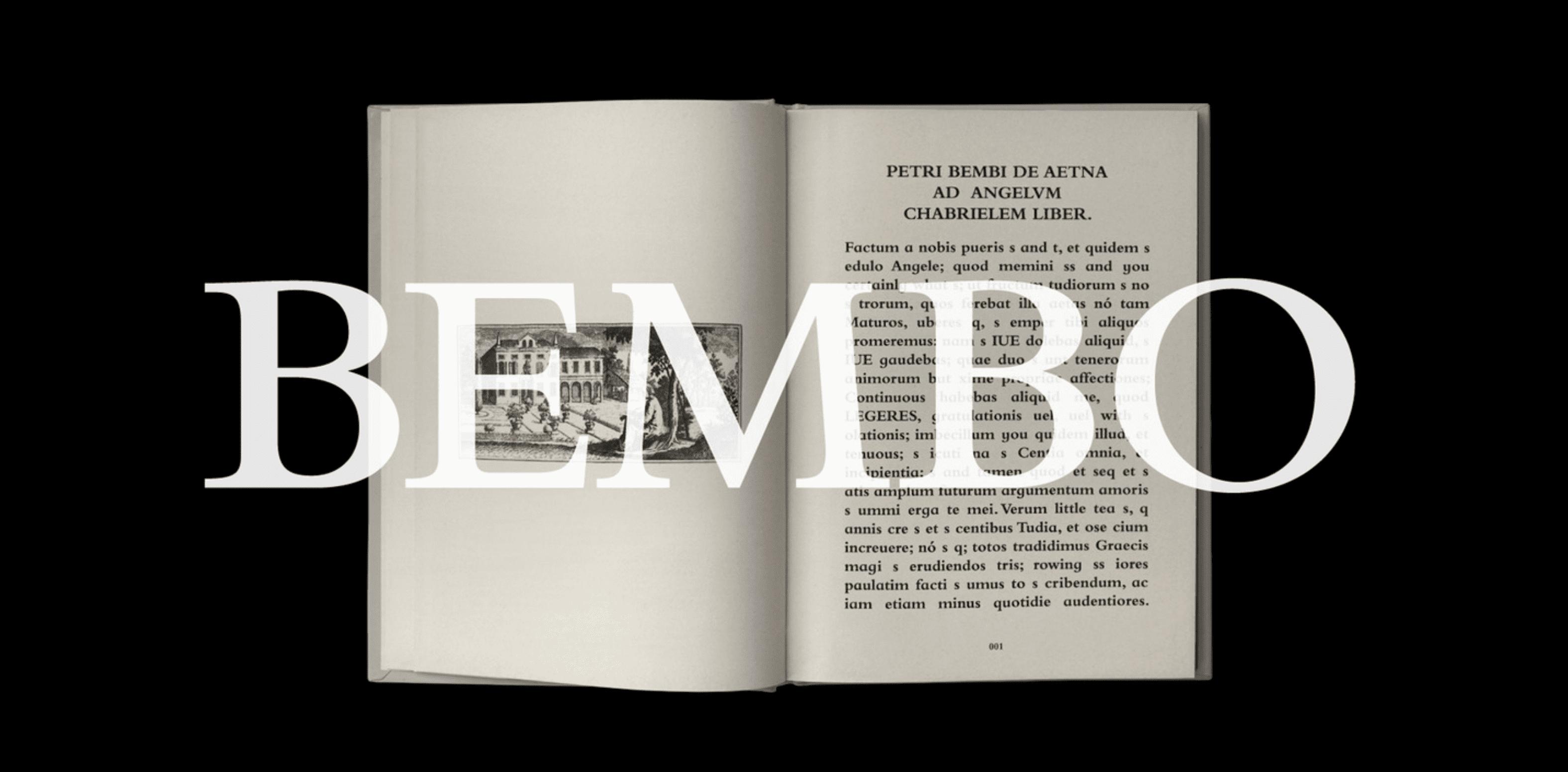 Bembo MT Pro