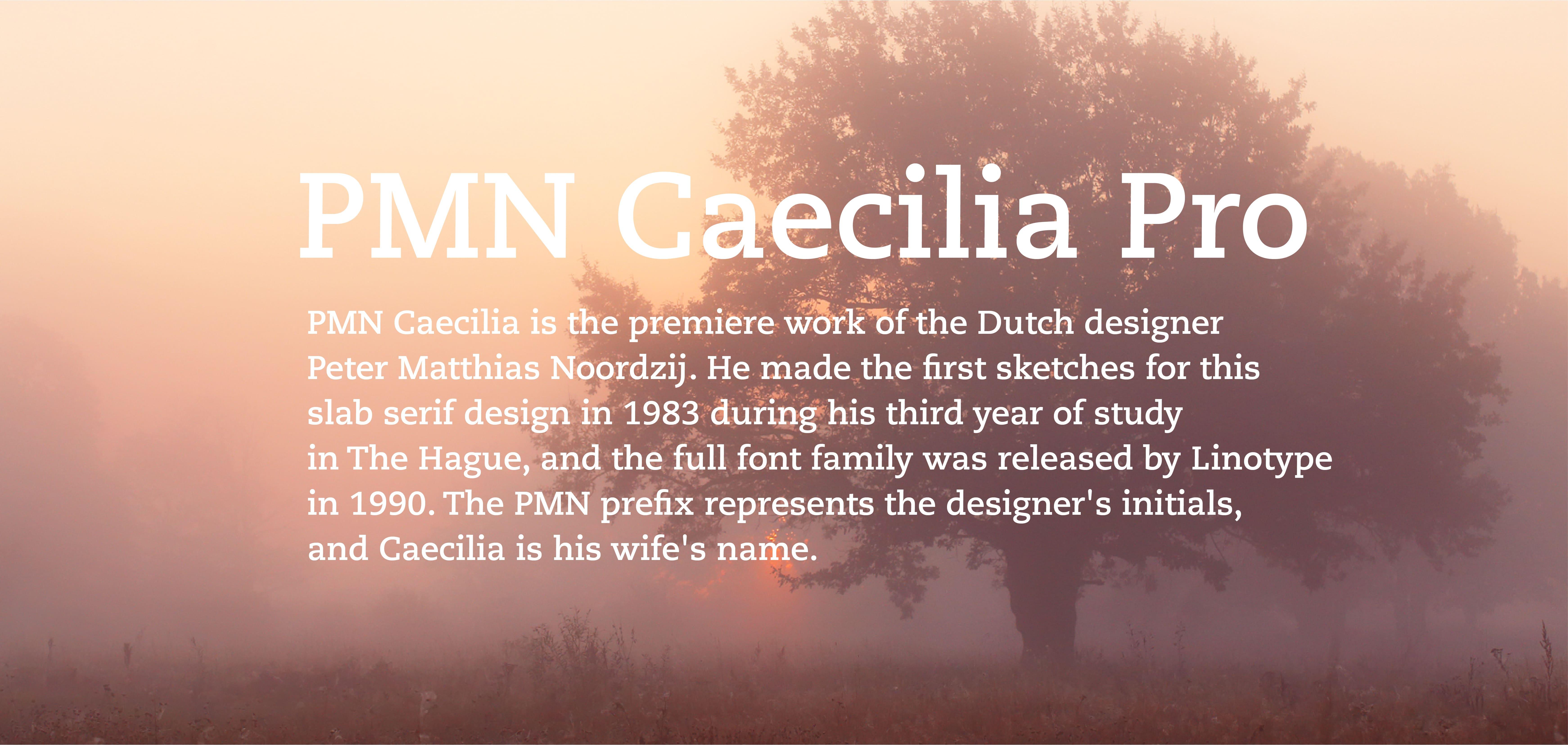 Caecilia LT Pro