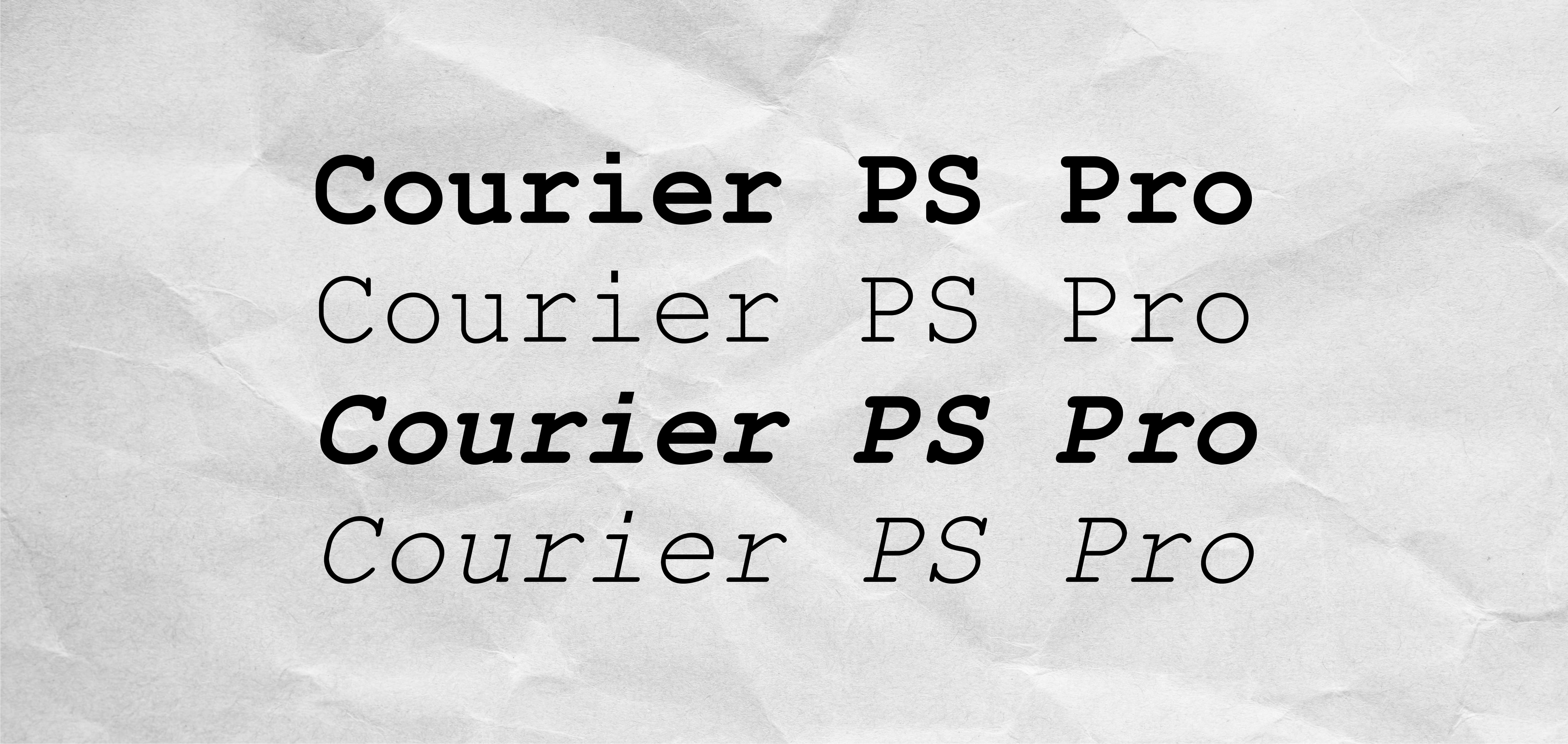 Courier PS Pro