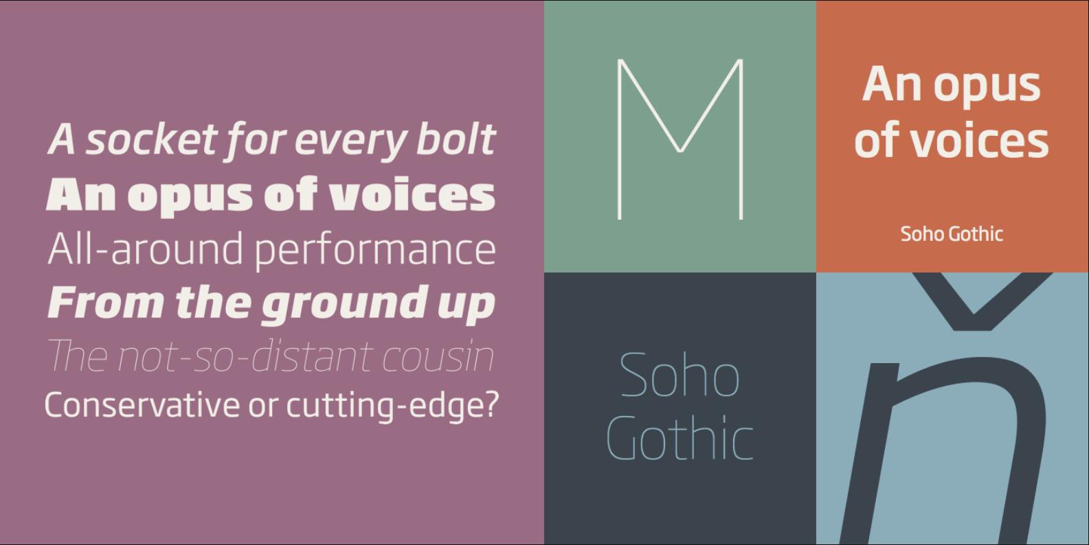 Soho Gothic Pro