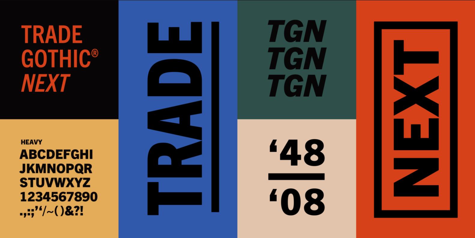 Trade Gothic Next LT